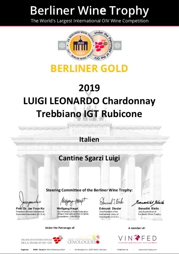 Chardonnay award